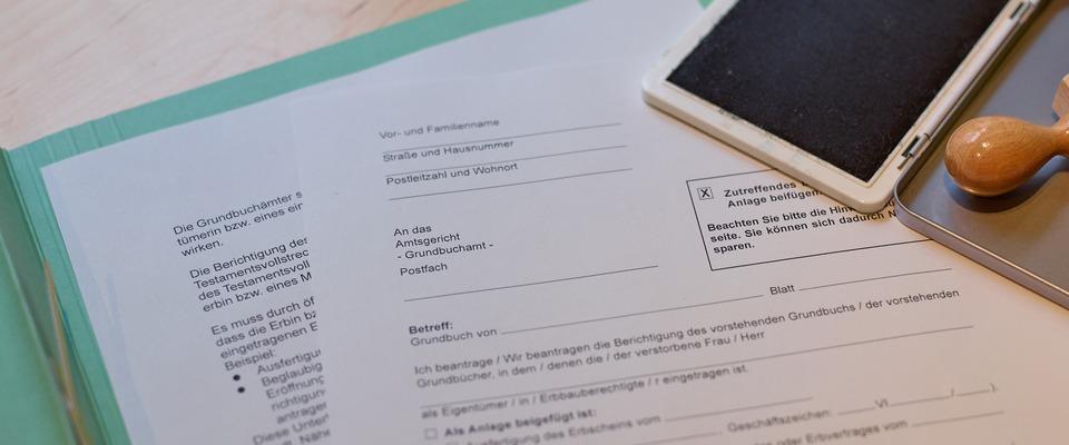Liegenschaftsbuch Flurstucks Und Eigentumerangaben 0